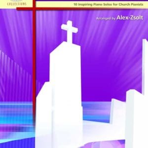 Contemporary Service Piano book by Alex Zsolt