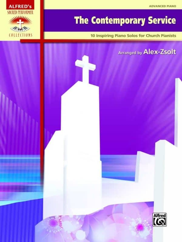 Contemporary Service Piano book by Alex Zsolt