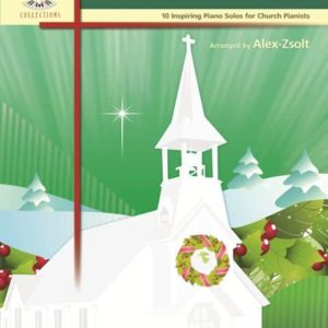 Traditional Christmas Service Piano Book by Alex Zsolt